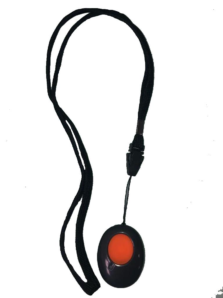 RISCO RWT51P - Boton de panico de transmision inalambrica / 433 Mhz