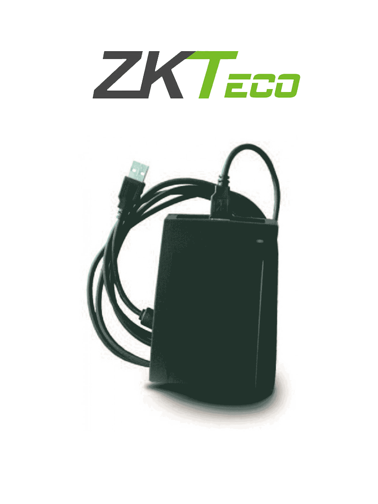 ZKTECO CR10MF - Lector de Tarjetas Mifare 13.56 Mhz/ USB