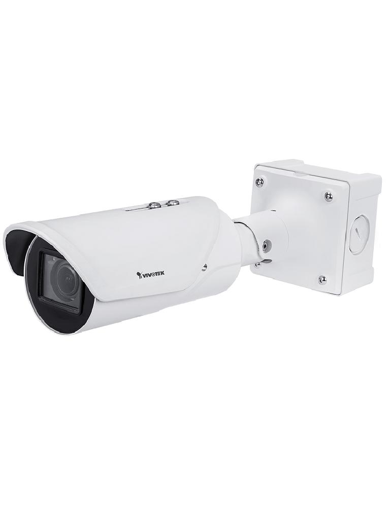 VIVOTEK IB9387LPR - Camara IP bullet exterior con reconocimiento de matriculas / 5  MP Full  HD / Exterior / WDR Pro / H265 / Smart FOCUS / SNV Ii / Smart
