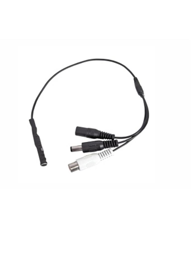 SAXXON ANXBA09- MICROFONO AMPLIFICADO 12VDC 56DB CON I/O AUDIO/ OMNIDIRECCIONAL