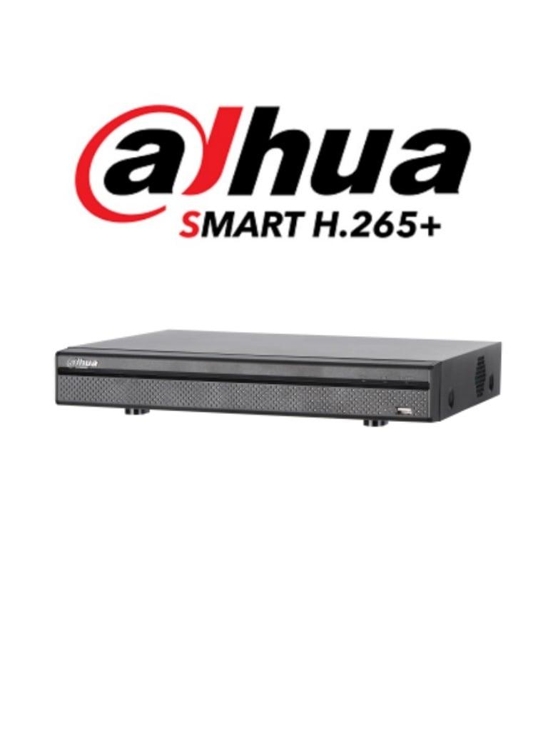 DAHUA XVR5116H4KLX - DVR 16 Canales  HDCVI pentahibrido 4 MP / 4K /  1080p / H265+ / 8 Ch IP adicionales 16+8 / 1 SATA Hasta 10TB / Smart audio / P2P