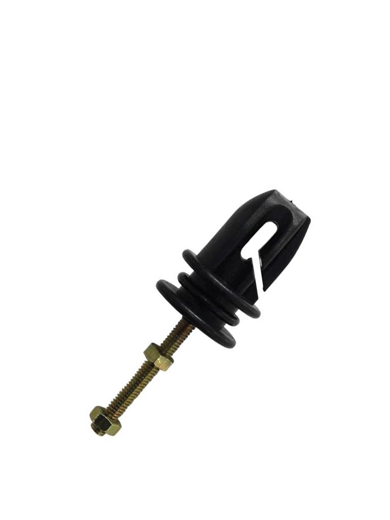 YONUSA AP401 - Aislador 3 en 1 de PASO, esquina y tensor para cercos electricos / Resistente a la corrosion / Resistencia de tension de 70 a 120  KgS