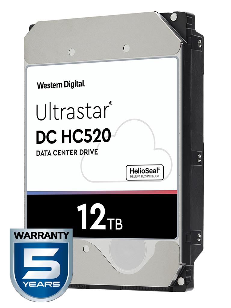 WESTERN HUH721212ALE604 - Disco duro de 12 TB / Serie ULTRASTAR / Recomendado para servidores / Videovigilancia / Sin limite de bahias / 7200RPM / SATA 3 / 6GBS / 256MB