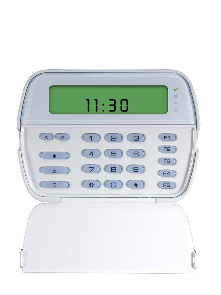DSC PK5501 - Teclado Cableado de Iconos admite 64 zonas compatible con panel Power Series
