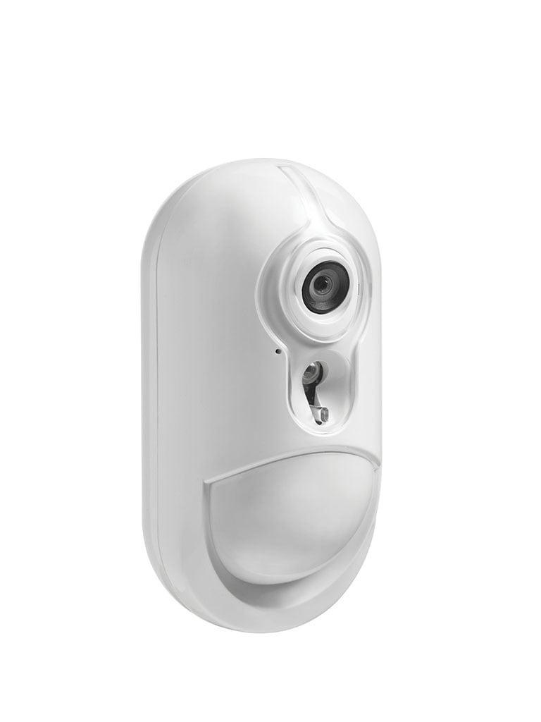 DSC PG9934P - NEO Detector de Movimiento PIR Inalambrico PowerG con Camara Integrada Imagenes a todo color  (Minion)