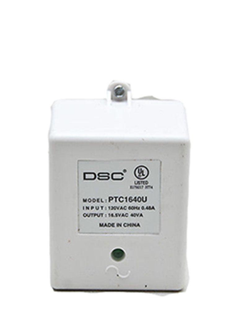 DSC PTC1640U - Transformador 16VCA / 40VA Fusible Interno DSC