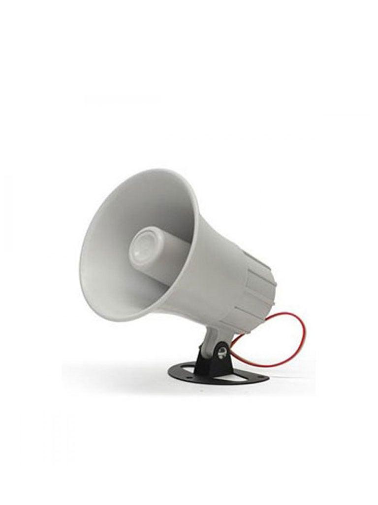 DSC SD20W - Sirena Alámbrica para Exterior 12 VCD 20W 2 tonos 110 dB