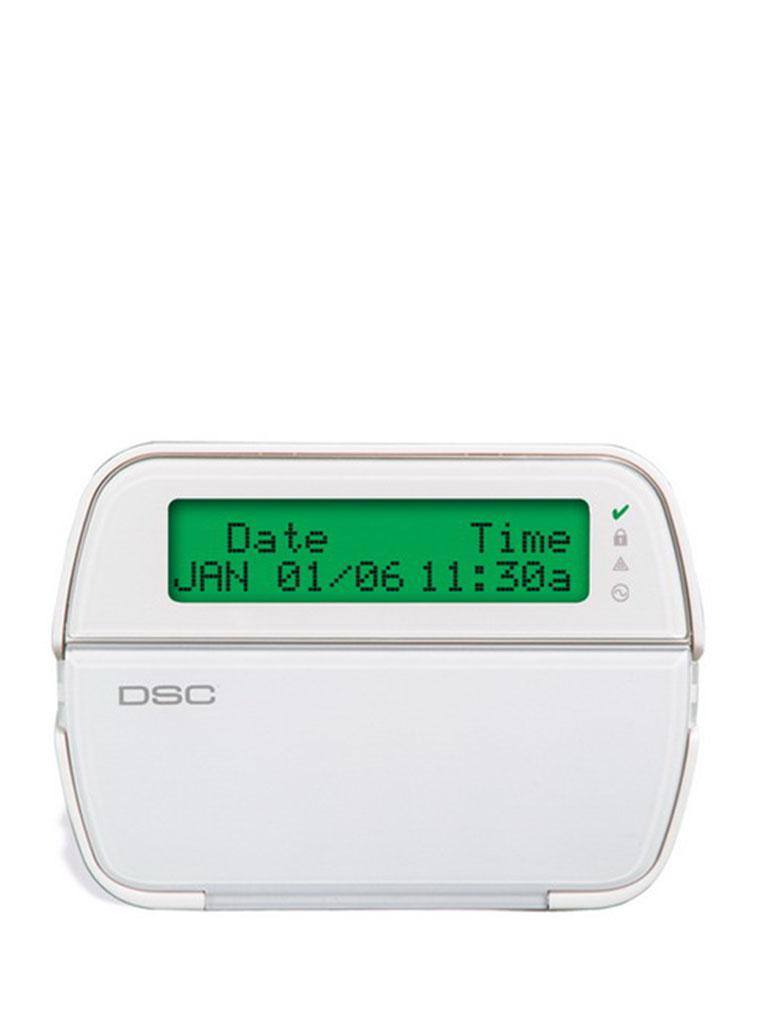 DSC RFK5500L1 - Teclado Cableado Alfanumérico con receptor integrado admite 64 zonas de las cuales 32 pueden ser inalambricas compatible con Power Series