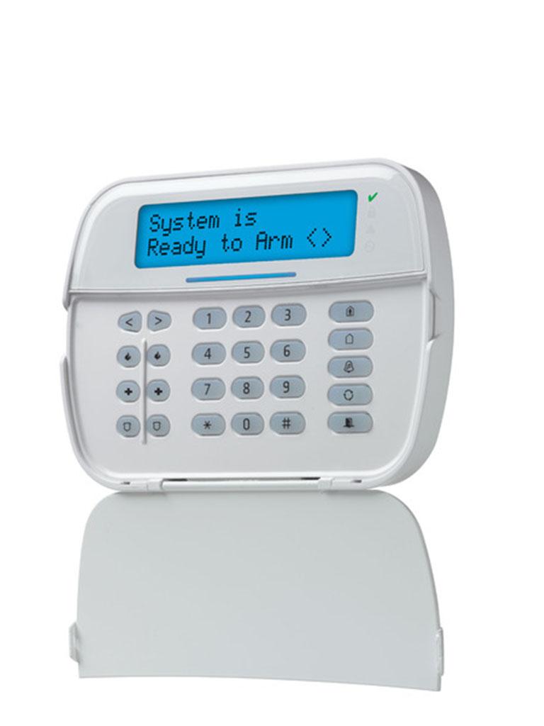 DSC HS2LCDRFP9N - NEO Teclado LCD Alfanumérico 128 Zonas TransceptorPowerG Integrado y Credencial de Proximidad