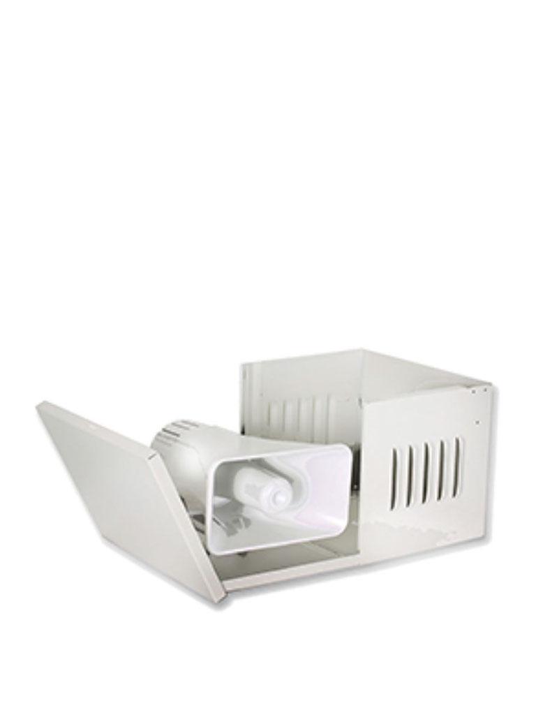 DSC GTVCMX006 - Gabinete Desplegable Metálico para Sirena Exterior 30W ( GS006 ) - no incluye sirena-