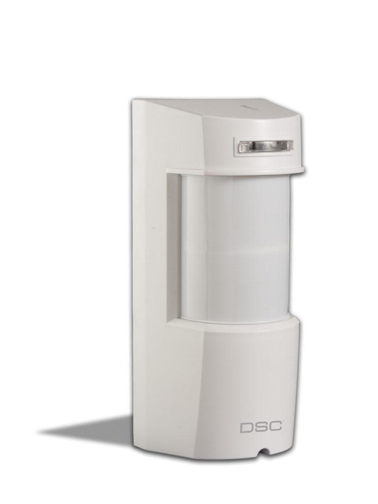 DSC LC171 - Sensor de Movimiento Exterior de Doble Tecnología (Doble PIR y Microondas) Con Inmunidad a Mascotas