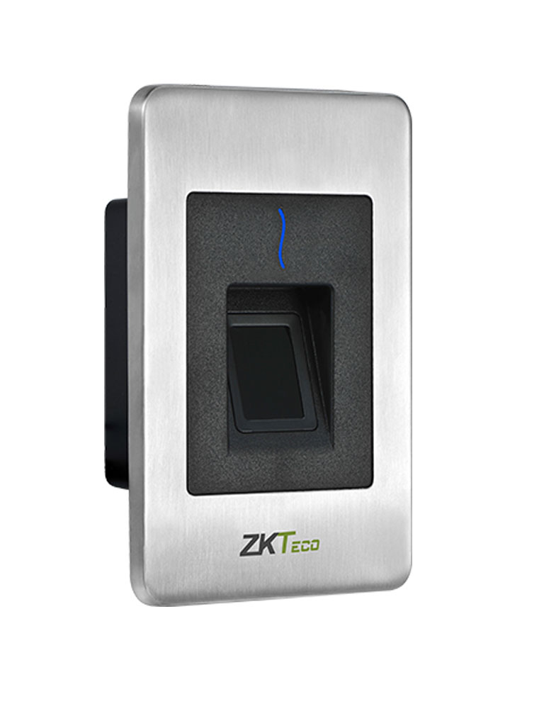 ZK FR1500ID - Lector esclavo de huella SILK ID / Tarjetas  ID 125  Khz /  IP65 /  RS485 /  LED Indicador de estado