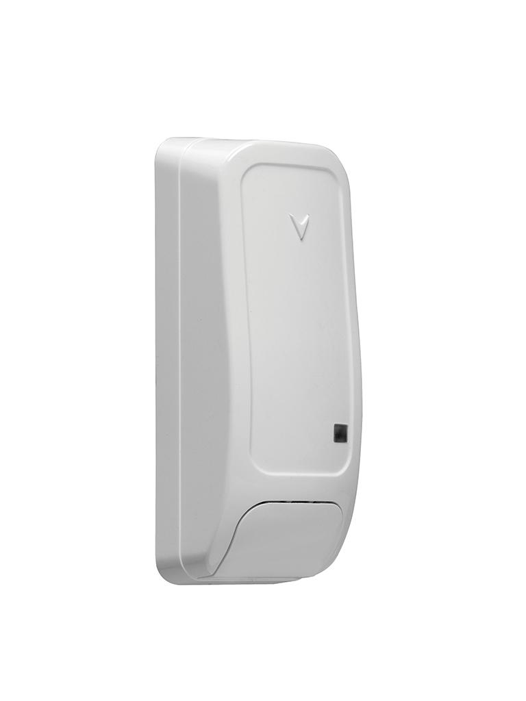 DSC PG9945E - Contacto Magnético Inalámbrico de Puerta/Ventana Power G c/entrada Auxiliar Rango Extendido compatible  con NEO, PRO Qolsys e IoTega