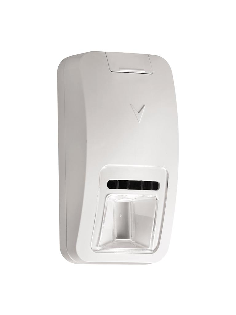 DSC PG9984P - Detector de Movimiento Óptica de espejo doble tecnología Pasivo y Microondas Inalámbrico Power G compatible con NEO, PRO, Qolsys e IoTega