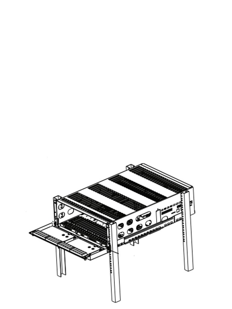 DSC SGMLRF5 Chasis Metálico para montaje de tarjetas para System V