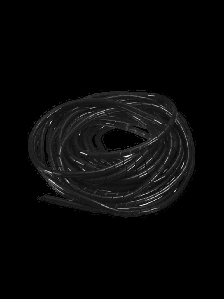 SAXXON CNESPN6 - Organizador de cables / Espiral / Negro / 1 / 4  / 10 Metros / Rollo