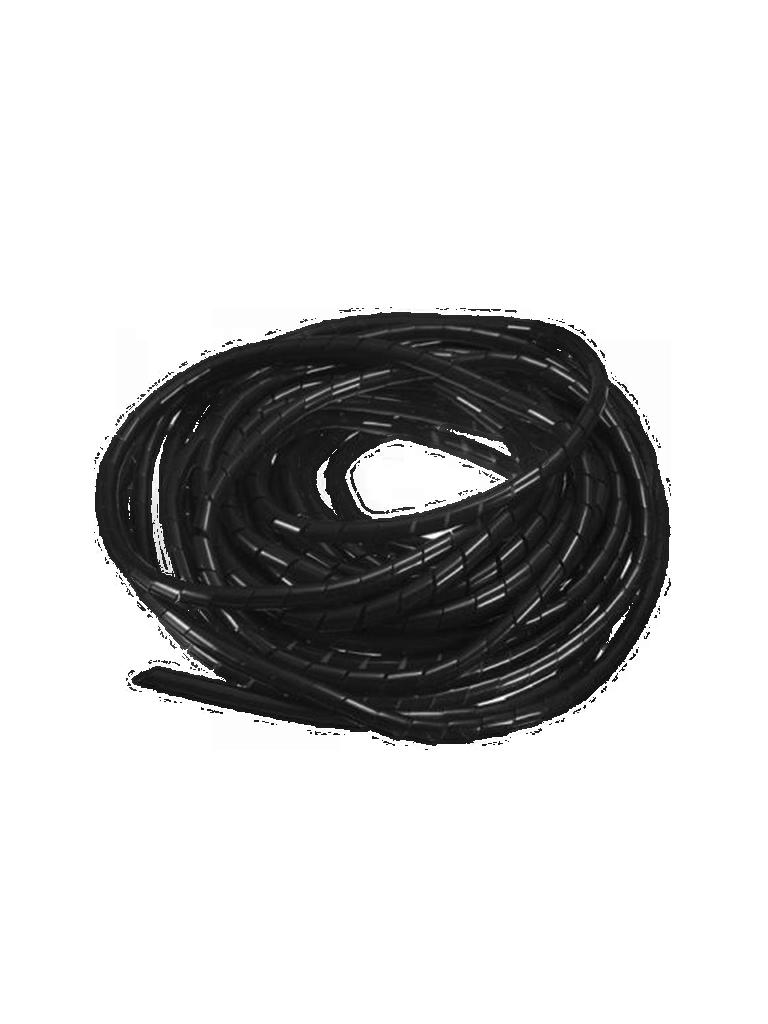 SAXXON CNESPN12 - Organizador de cable / Espiral negro / 1 / 2  pulgada/ Rollo de 10 Metros