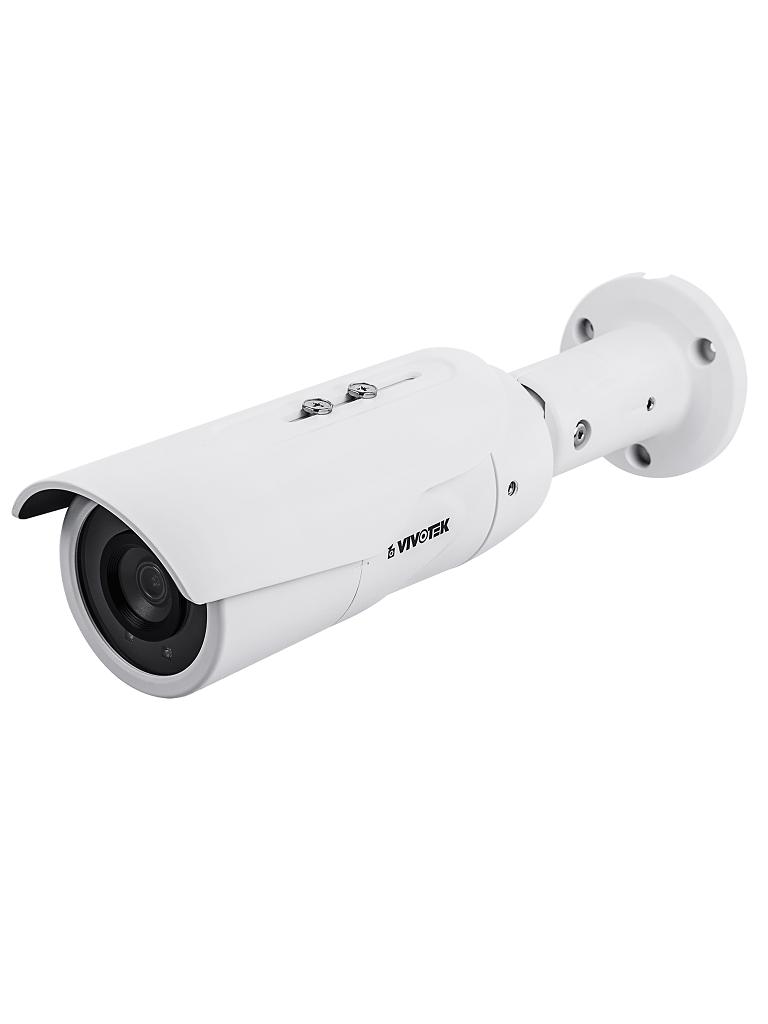 VIVOTEK IB9389H - Camara IP bullet exterior 5  MP / H265 / Lente fijo 3.6 MM / WDR Pro / Ir 30M / Smart stream / IP66 / IK10 / ONVIF