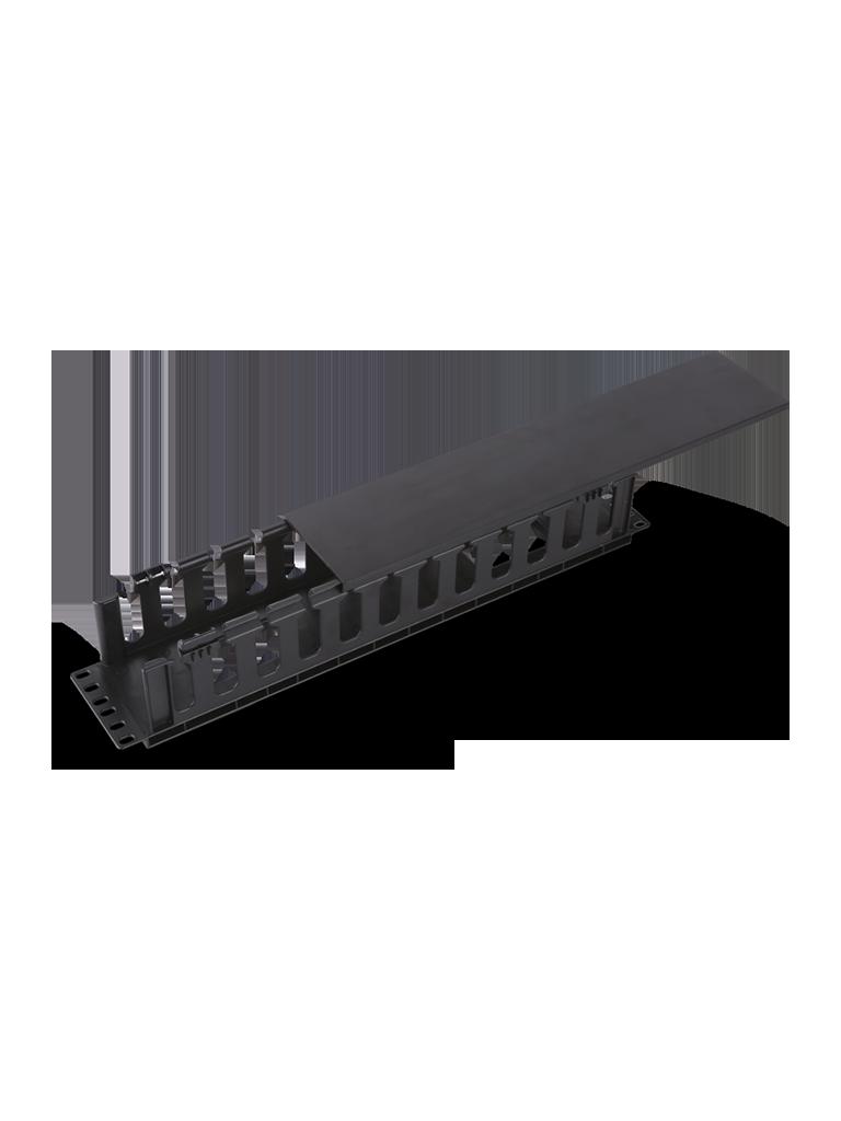 TVC J6069 - Organizador de cable horizontal para rack / Un lado / Plastico / 2U