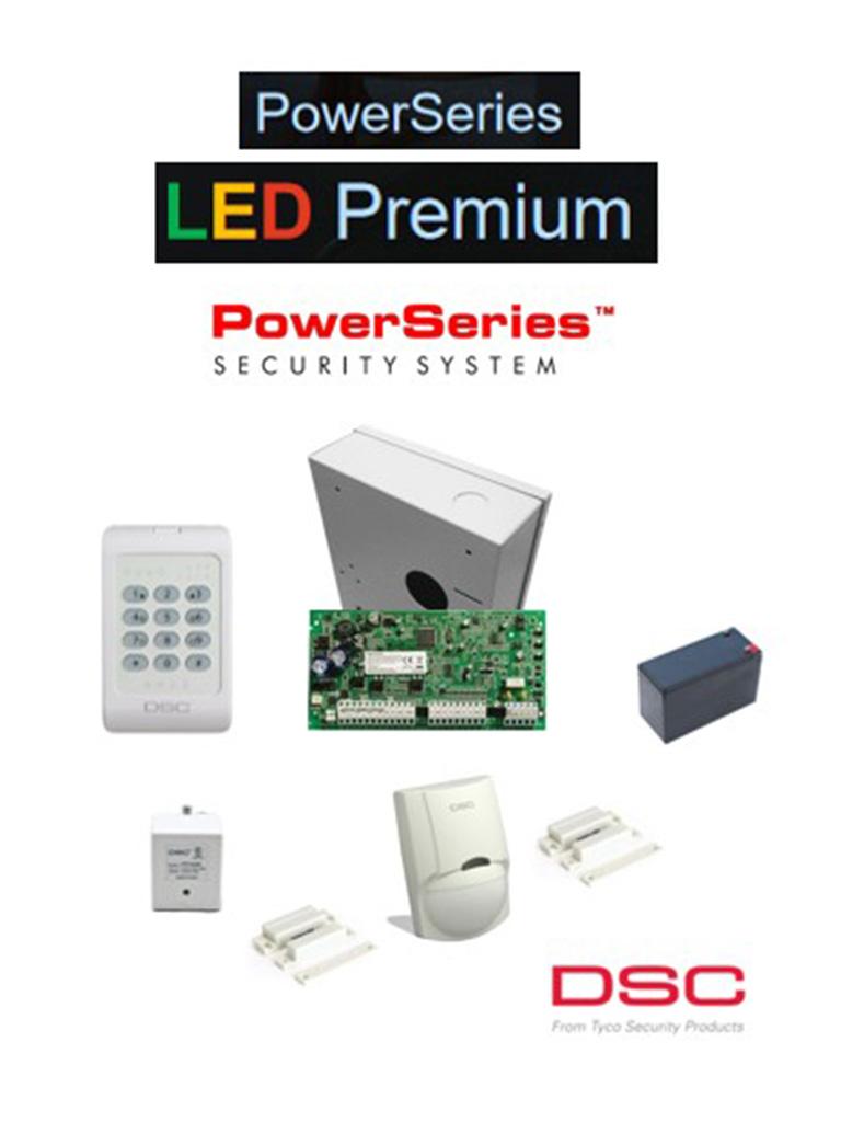 DSC PWRLEDPAQ - Paquete Power Series LED Premium Alámbrico