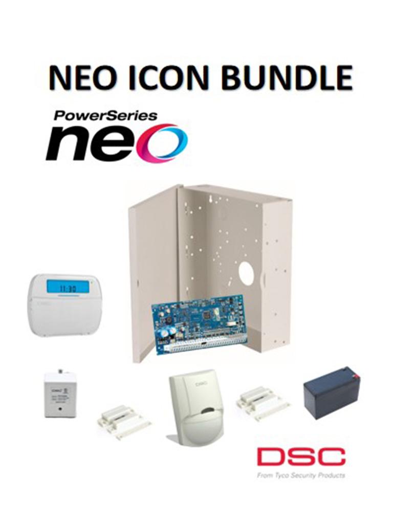 DSC NEOIBPAQ - Paquete NEO ICON Bundle Alámbrico (Reemplazo HS2032CLC2SPA)