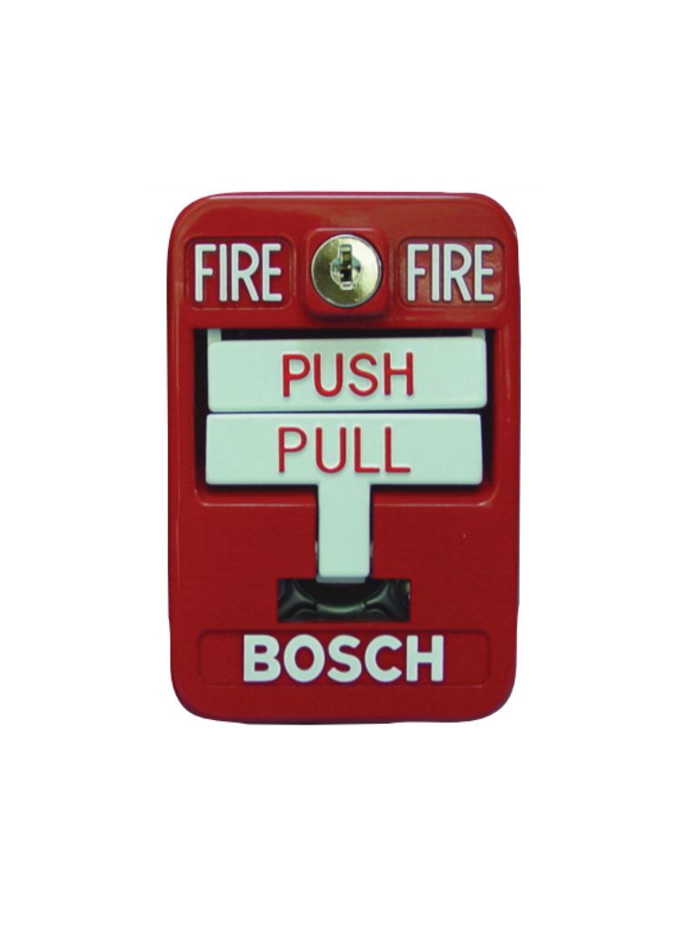 BOSCH F_FMM7045D - Pulsador manual de incendio direccionable de accion doble color rojo