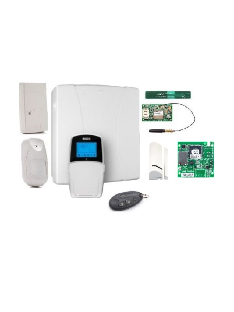 WIRELESS PACK - RISCO 3G PACK-PANEL LIGHTSYS Con comunicador 3G y modulo IP / Receptor inalambrico / 1 PIR Inalambrico / 1 Magneticos inalambricos / Control remoto INALAMBRICO.