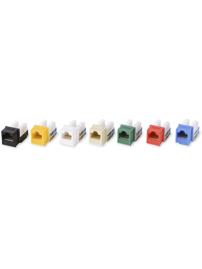TVC M2656AR - JACK RJ45 UTP CAT6A COLOR ROJO