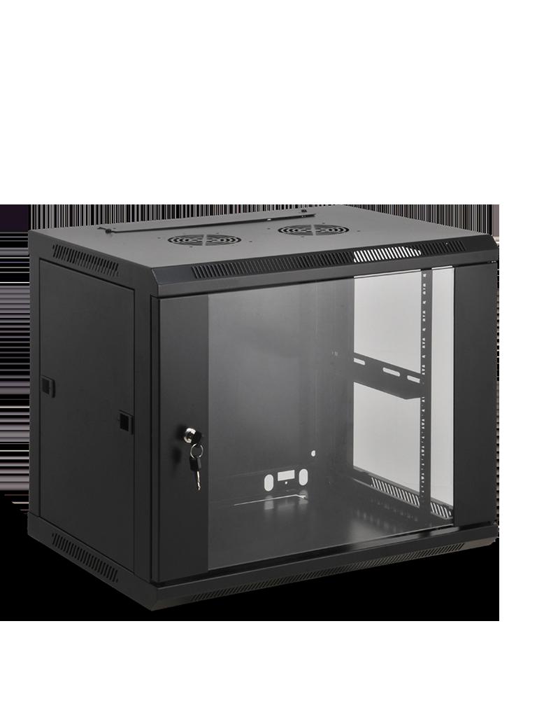 SAXXON SA641201 - Gabinete de pared / 12 UR / Fijo / Capacidad de carga de 60  Kg / Ancho 600 mm x profundidad 450 mm x alto 635 mm