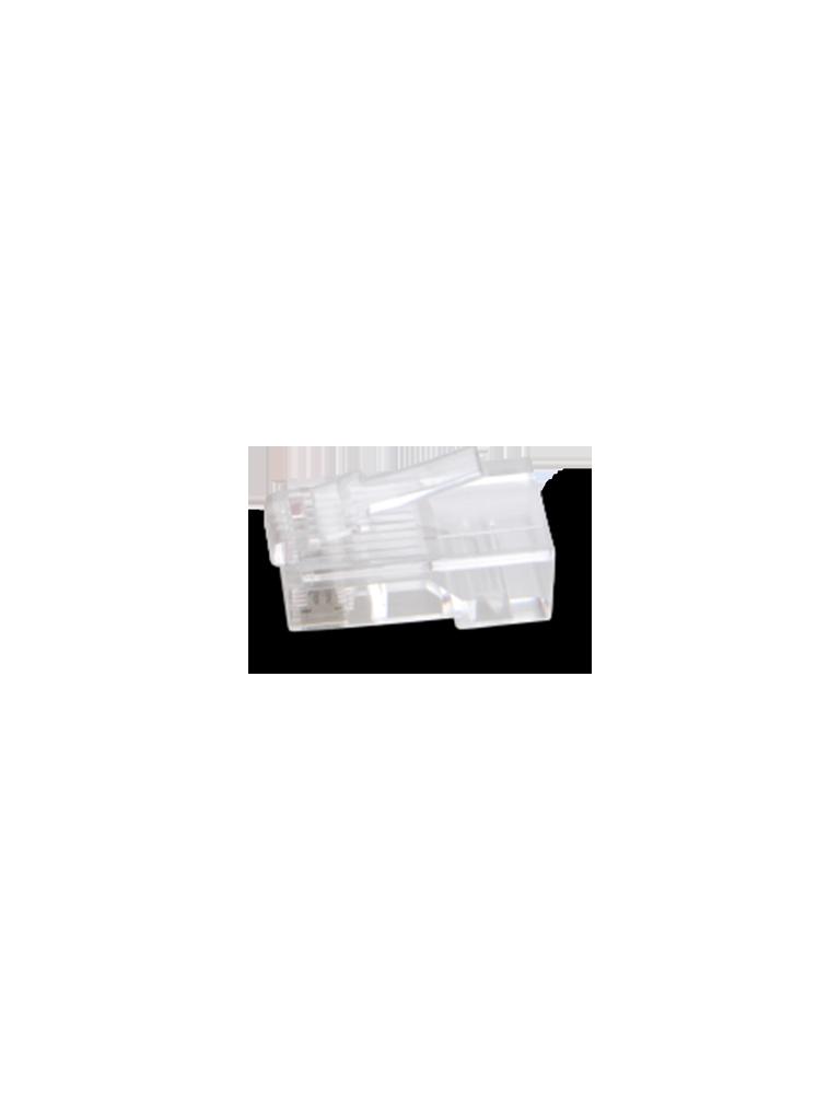 SAXXON S901A - Conector plus RJ45 para cable UTP / CAT5E / Paquete 100 piezas