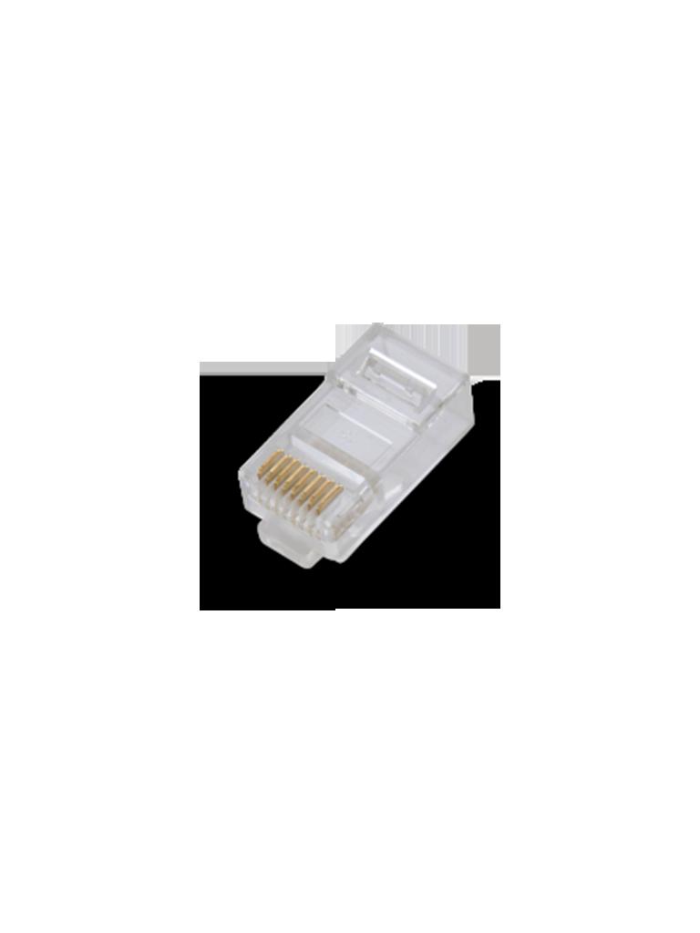SAXXON S901D - Conector plus RJ45 para cable UTP / CAT 6 / Paquete 100 piezas