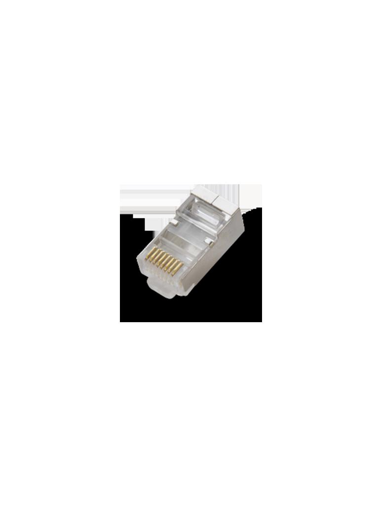 SAXXON S901E - Conector plug RJ45 para cable UTP / CAT 6 / Blindado / Paquete 100 piezas