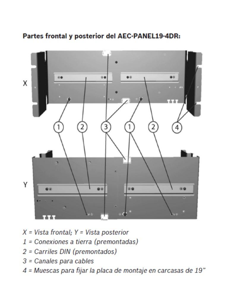 AEC-PANEL19-4DR diagrama