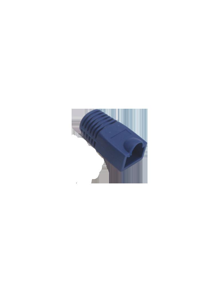 SAXXON S902C1 - Bota para conector plug RJ45 CAT 6A / Color azul / Paquete 100 piezas