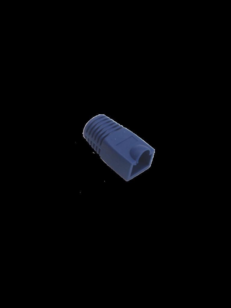 SAXXON S902B1 - Bota para conector plug RJ45 CAT 6 / Color azul / Paquete 100 piezas