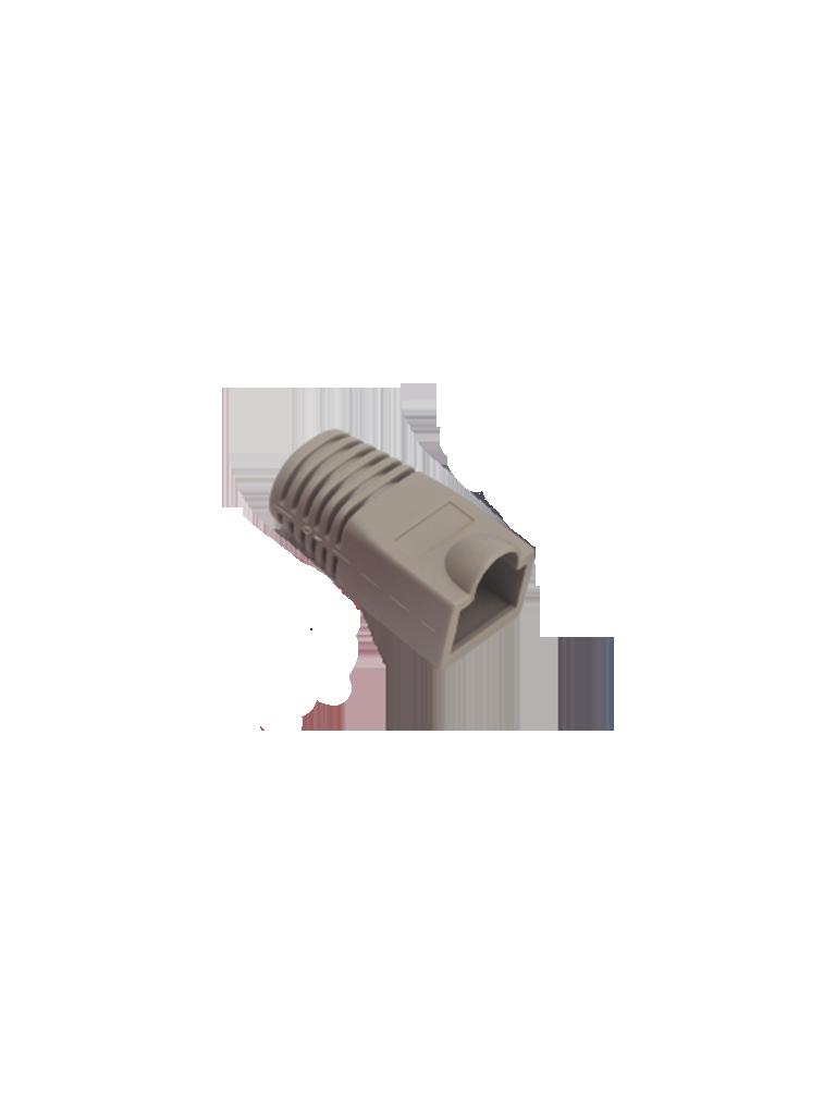 SAXXON S902A2 - Bota para conector plug RJ45 CAT 5E / Color gris / Paquete 100 piezas