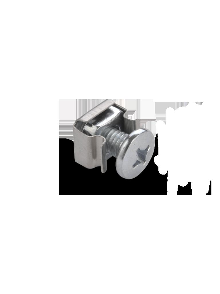 SAXXON TM6 - Tornillo M6 con tuerca / Cabeza phillips/ Paquete de 50 piezas