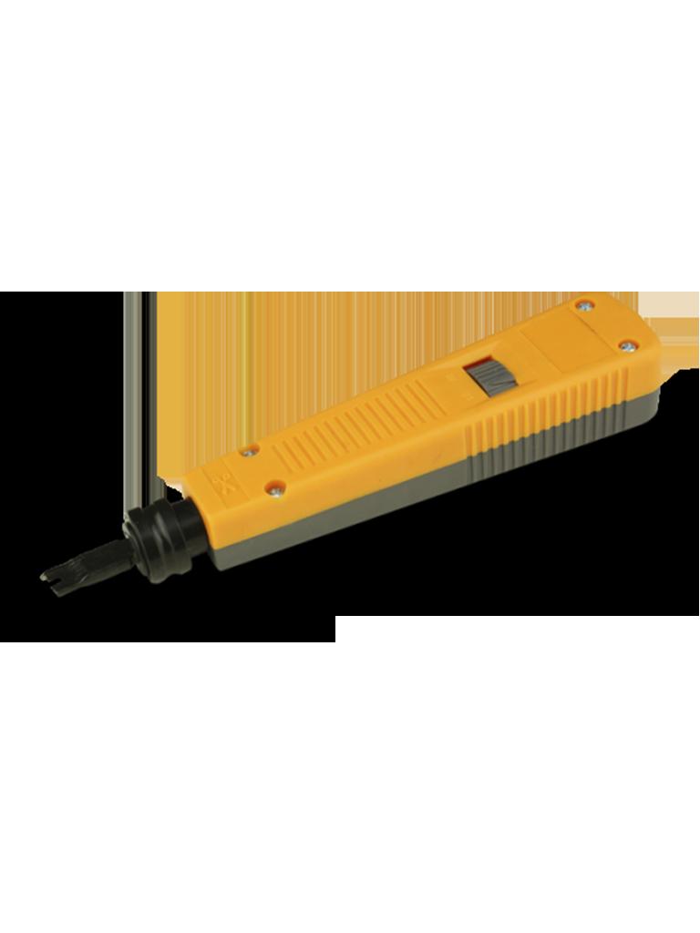 SAXXON G110 - Herramienta de impacto / Navaja multiposicion / Para ponchar o cortar cable