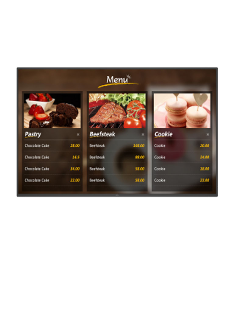 DAHUA LDH55TAI200 - Pantalla LCD digital SIGNAGE 55 pulgadas / ANDRO ID 5.1 / Uso interior / Carcasa de metal / Video / Imagenes / Texto administrable remotamente