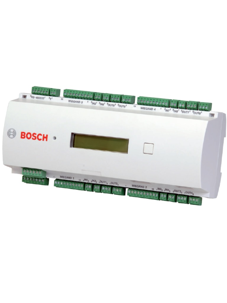 BOSCH A_APCAMC24WCF- AMC2 MODULO DE CONTROL DE ACCESO DE 1 A 4 PUERTAS / INTERFAZ WIEGAND / 8 ENTRADAS / 8 SALIDAS