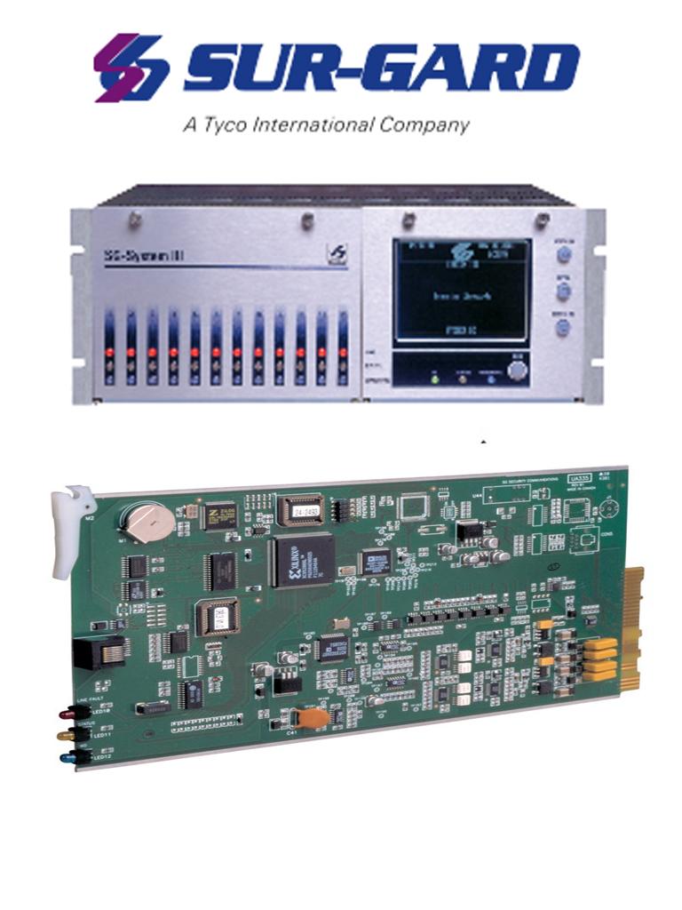 DSC KIT SGSIII-IP - Kit Surgard System III + 1 Tarjeta IP.
