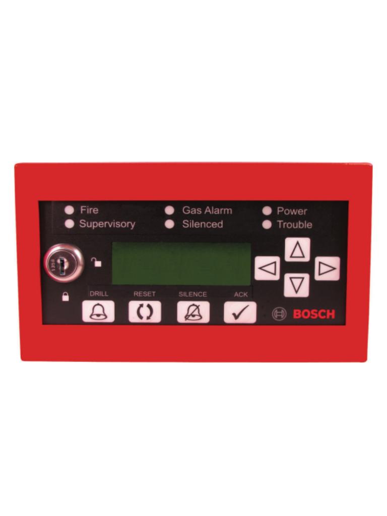 BOSCH F_FMR1000RCMD - Teclado remoto / Centro de comando / Pantalla  LCD / Sirena