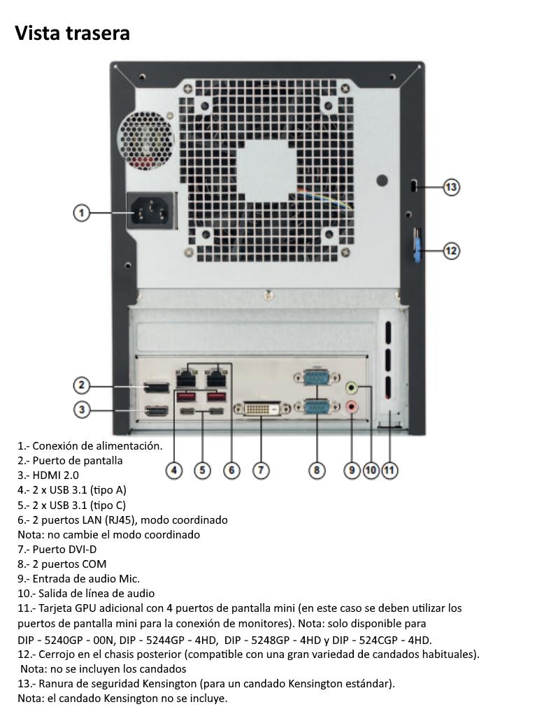 DIP-5240GP-00N config2