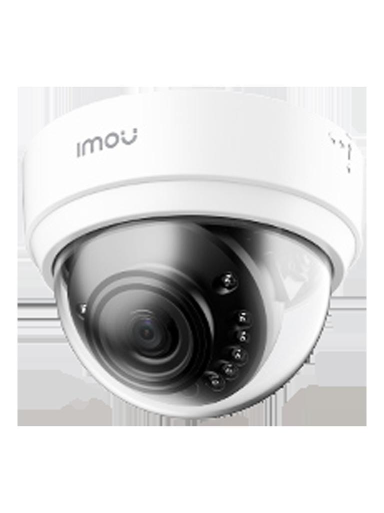 IMOU DOME LITE - Camara Domo 2 Megapixeles/ Wifi/ Lente de 2.8/ Ir 20 mts/ Rannura Para MicroSD/ Interior