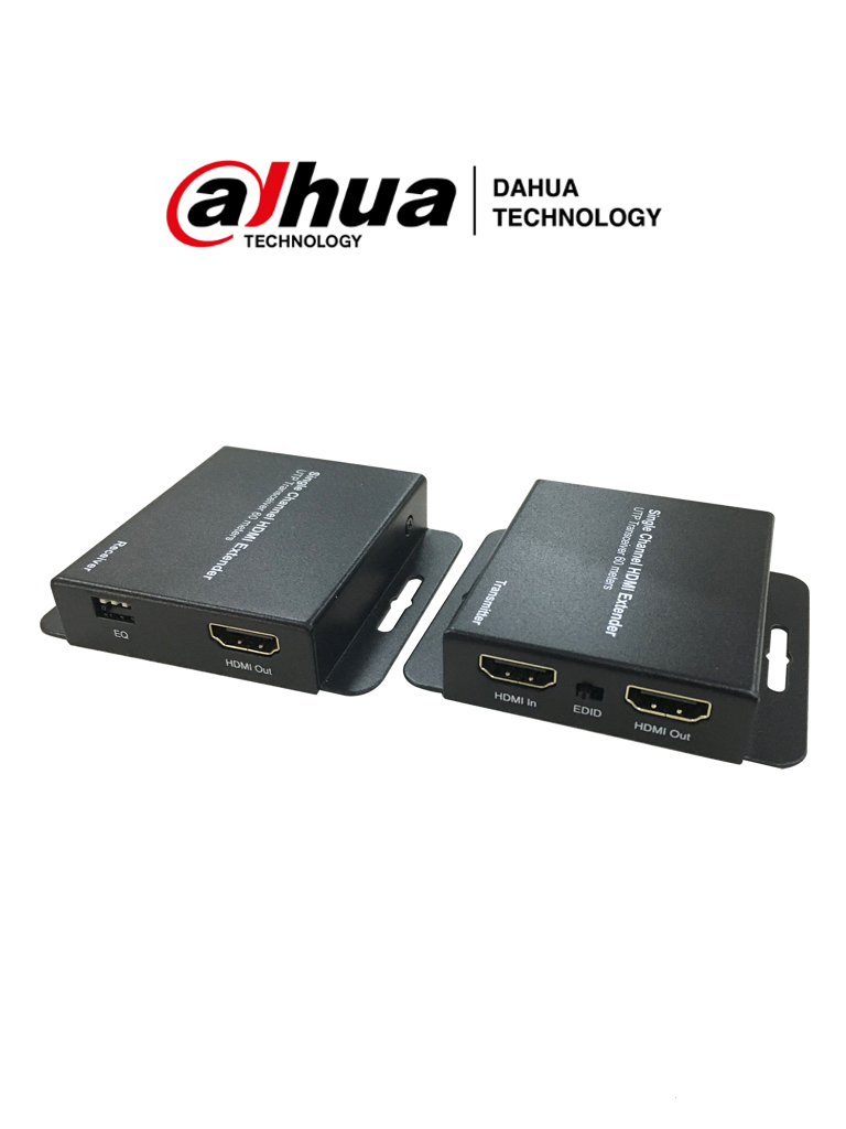 DAHUA PFM700-E - Kit de Transmisor y Receptor de HDMI por Cable UTP/ 1080p/  50 Metros/ Proteccion de Interferencia
