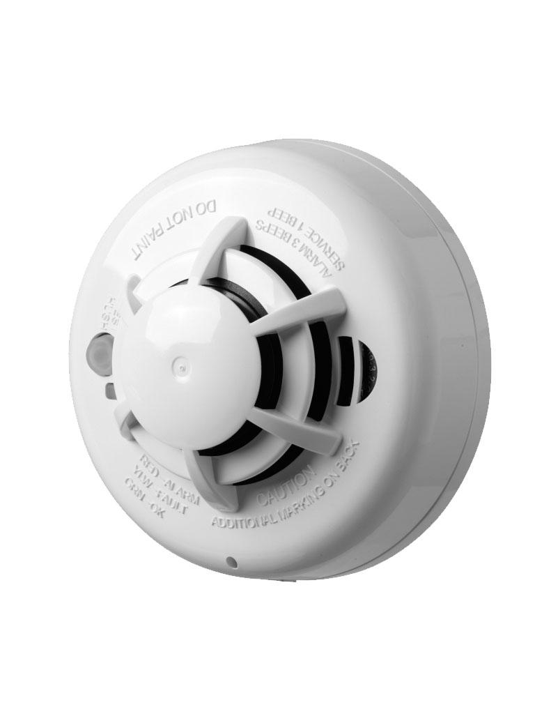 DSC WS4936 - Detector de humo fotoeléctrico y calor inalámbrico con frecuencia 433 Mhz compatible con Power Series, Impassa y Maxsys