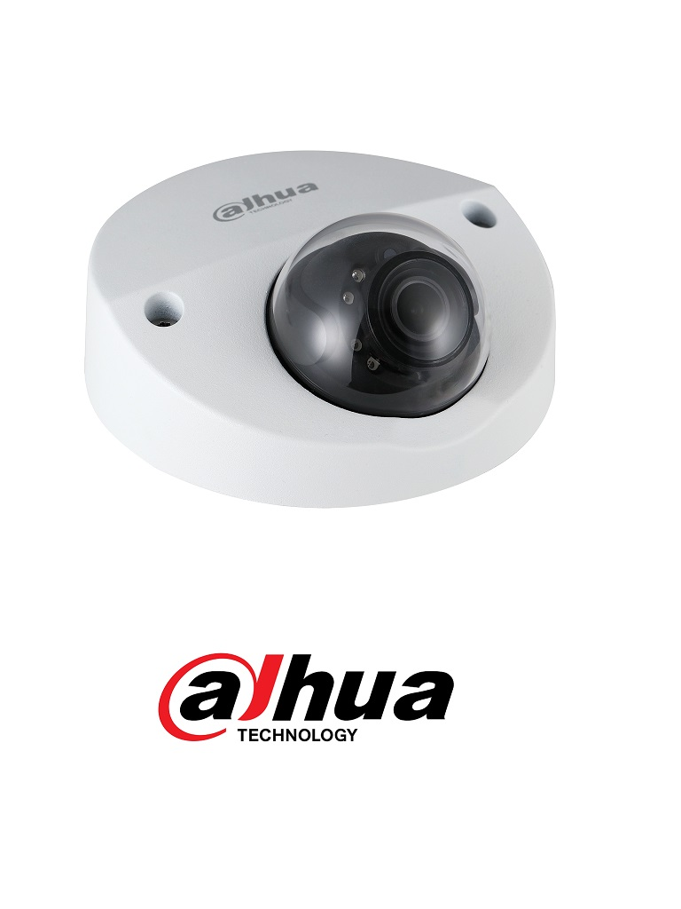 DAHUA HDBW2241F-M-A-28- Camara Domo HDCVI de 2 megapixeles/ Para XVR Movil/ Starlight/ Lente de 2.8mm/ IR 20 Mts/ Audio Integrado/ WDR Real de 120 dB/ IP67/ IK10