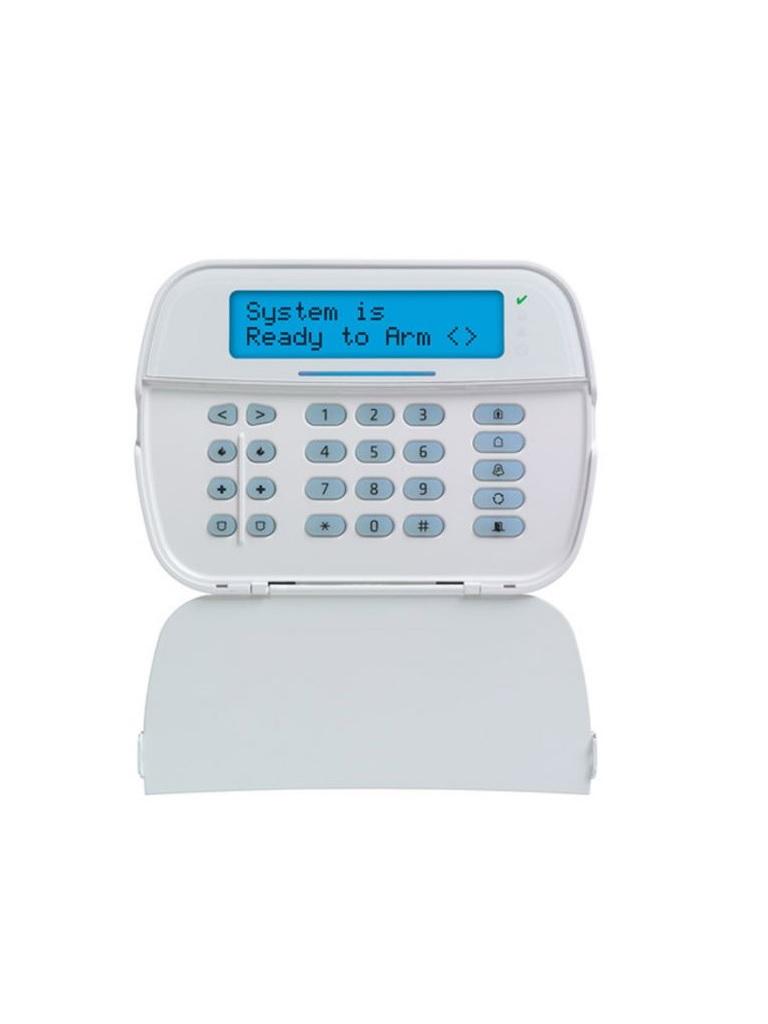DSC-HS2LCDPRO - Teclado Cableado LCD Alfanumérico admite 248 zonas con 32 caracteres compatible con  panel PRO
