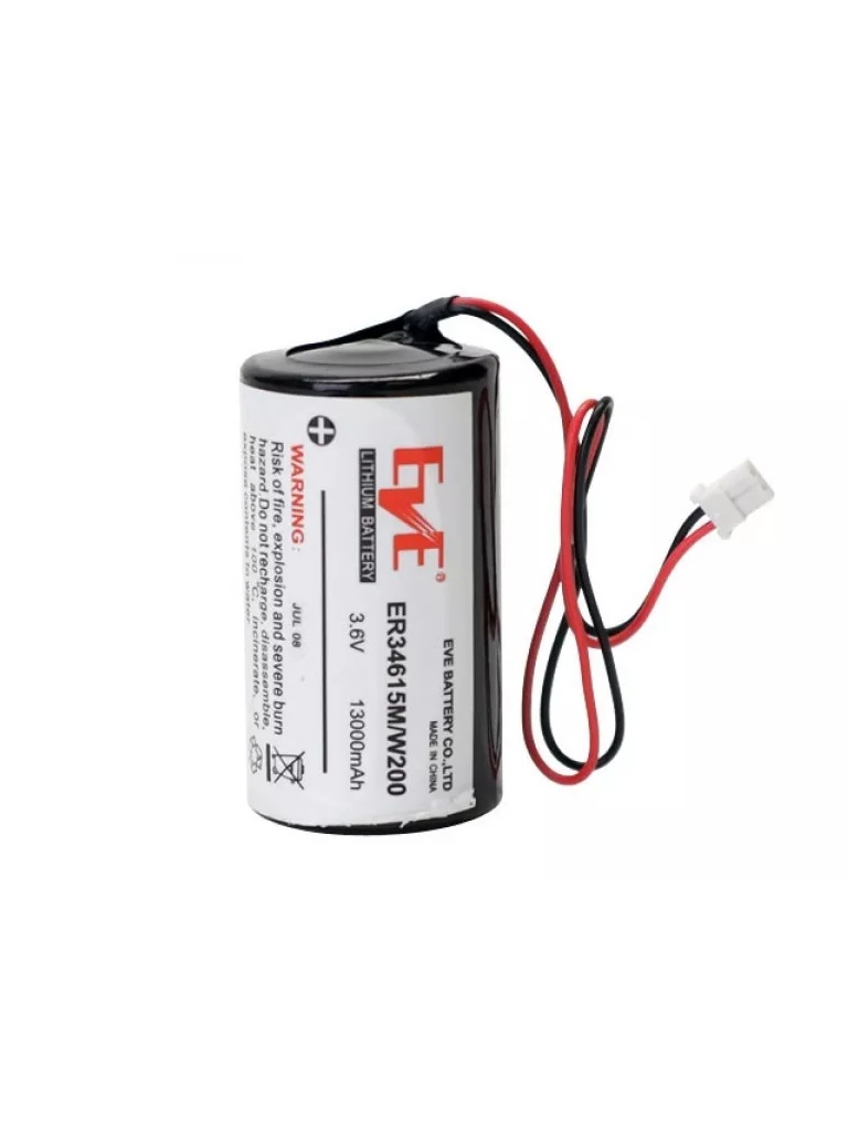 DSC-BATT13036V- Batera De Litio 3.6 Vcd. 13.0 Ah. Para Sirena PG9901/PG9911