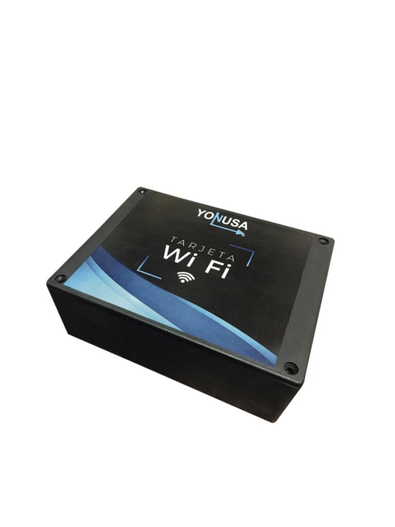YONUSA MWFLITE - Modulo Wifi Lite compatible con todos los energizadores Yonusa/ App Yonusa 2.0 para iOS y Android/ Standar 802.11 b/g/n/ 1 salida auxiliar